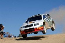 WRC - Tuohino holt einen Punkt für Skoda