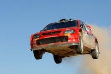WRC - Mitsubishi: Rovanperä auf Platz drei