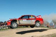 WRC - Mitsubishi: Trotz Doppelausfall sehr ermutigt