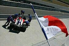 A1GP - Frankreich mit schnellster Trainingszeit