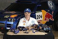 WRC - Bilder: VW bei der Paris-Dakar Rallye 2004