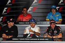 Formel 1 - PK: Ein Lokalmatador, ein Tennisspieler und drei weitere Gäste