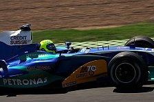Formel 1 - Sauber am Nachmittag wie verwandelt