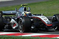 Formel 1 - 2. Freies Training: Montoya mit heftigem Crash