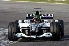 Formel 1 - Minardi testet mit Albers, Nissany & Pastorelli