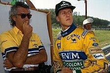 Formel 1 - Briatore stimmt in Schumacher-Kritik mit ein