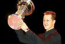 Formel 1 - Michael Schumacher für sein Lebenswerk geehrt