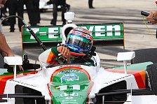 IndyCar - Umsteiger weit vorne