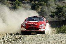WRC - Zypern: Hitze, Steinige Schotterpfade und viel 'wheel spin'