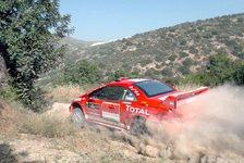 WRC - Große Enttäuschung bei Peugeot