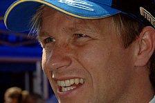 WRC - Shakedown-Bestzeit für Solberg
