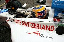 A1GP - Schweiz startet weit vor Neuseeland