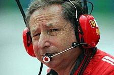 Formel 1 - Jean Todt: Ja, vielleicht heiraten wir