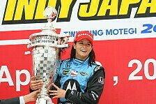 IndyCar - Danica Patrick siegt