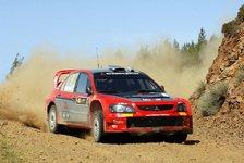 WRC - Mitsubishi möchte viele Punkte holen