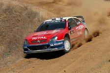 WRC - Zypern Tag 1: Zwei Privatiers jagen Loeb