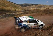 WRC - Ford: Zum 50. Mal in Folge gepunktet