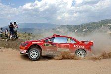 WRC - Peugeot: Punkte für Marken-WM im Auge