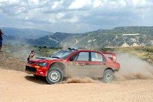 WRC - Beide Mitsubishi noch dabei