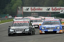 DTM - Tests bei Mercedes und Opel