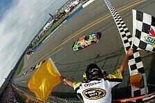 NASCAR - Kyle Busch gewinnt Talladega-Lotterie