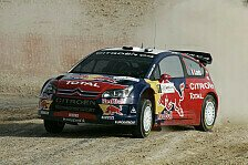 WRC - Loeb gewinnt Rallye Sardinien zum dritten Mal.