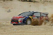 WRC - Citroen dominiert ersten Tag bei Rallye Sardinien