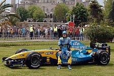 Formel 1 - 100.000 Fans bejubeln Alonso