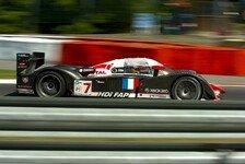 Le Mans Serien - Peugeot und Villeneuve gewinnen