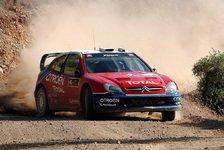 WRC - Fréquelin schaut nach anderen Fahrern