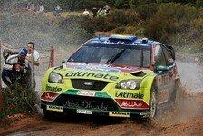 WRC - BP Ford möchte in Griechenland den Sieg