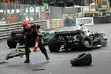 Formel 1 - Bilder: Monaco GP - Unfälle