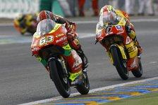 Moto3 - Di Meglio gewinnt einen Krimi