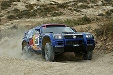 WRC - Marokko, Etappe 5: VW erbt Dreifacherfolg von Peterhansel