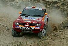WRC - Rallye Marokko, Etappe 2: Peterhansel baut Führung aus