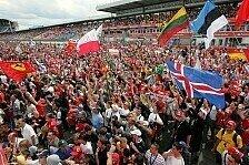 Formel 1 - Wie viel kostet ein F1-Wochenende in Hockenheim?
