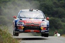 WRC - Citroen dominiert 1. Tag der Rallye Spanien