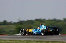 Formel 1 - 3. Freies Training: McLaren im Renault-Sandwich