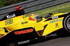 Formel 1 - Jordan: Monteiro träumt von Punkten
