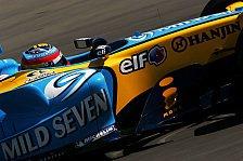 Formel 1 - Renault: Verwunderte Franzosen bauen auf das Rennen