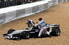 Formel 1 - Ferrari vs. Williams - Gemischte Gefühle in Rot und Weiß-Blau