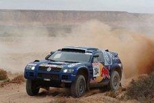 WRC - Orient Rallye, Etappe 1: VW-Doppelführung zum Auftakt