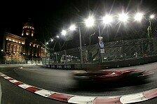 Formel 1 - Singapur 2008 - Einer blieb ganz cool
