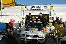 ADAC Rallye Masters - Alexy stellt alle in den Schatten