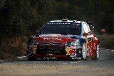 WRC - Citroen auch nach 2. Tag an der Spitze