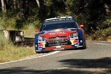 WRC - Citroen feiert Doppelsieg bei Rallye Spanien