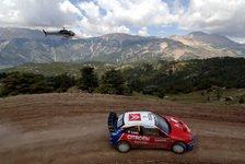 WRC - Türkei Tag 2: Loeb konterte Solbergs Angriffe