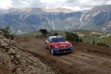WRC - Sainz auch in Griechenland für Citroen