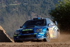 WRC - Subaru: Falsche Reifen, Regen und Ausfall