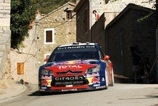 WRC - Loeb gewinnt Rallye Korsika